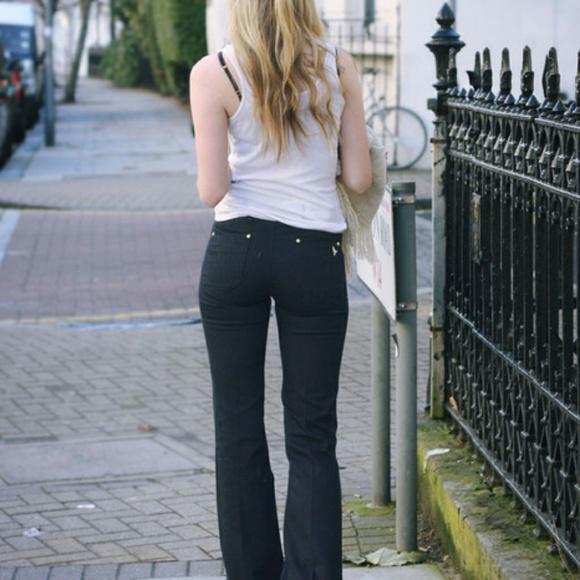 79778a31e7df3e Mih skinny marrakesh kick flare jeans size 28. M_5a9316d53a112edf28876f34
